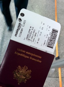 Passeport et carte d'embarquement - Check