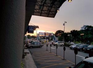 Le soleil se couche sur Kajang