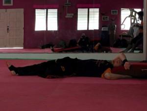 Cikgu Audy passe en mode sieste