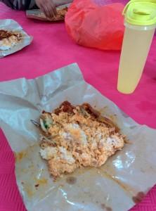 nasi lemak sotong