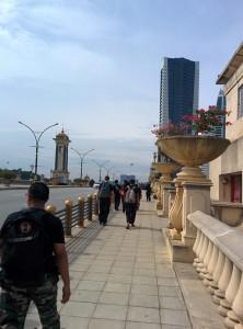 En balade à Putrajaya