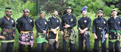 La Malaisie en Fête - Démonstration de Silat au Jardin d'Acclimatation