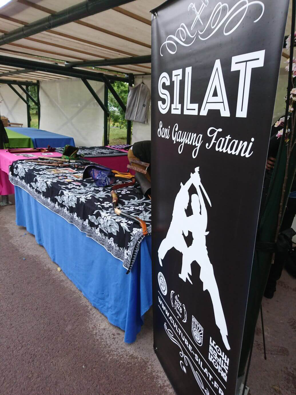 La Malaisie en Fête 2017 - Présentation du stand Silat