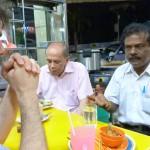 Carnet de Voyage en Malaisie 2014 - Maître Raban et Raju