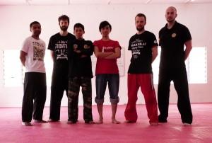 Carnet de Voyage en Malaisie 2014 - Photo de groupe après l'entraînement du matin