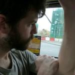 Carnet de Voyage en Malaisie 2014 - Matthias a du mal à garder les yeux ouverts