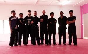 Carnet de Voyage en Malaisie 2014 - Photo de groupe à la fin du cours
