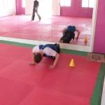 Stage de Pencak Silat en Malaisie 2014 - Dernier exercice : 10 pompes