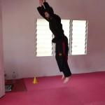 Stage de Pencak Silat en Malaisie 2014 - Premier exercice : 10 flexions/extensions