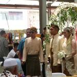 Carnet de Voyage en Malaisie 2014 - Les mariés sont arrivés