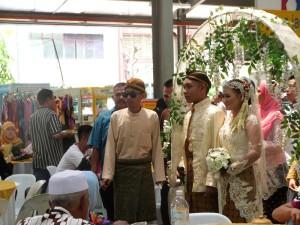 Pencak Silat - Les mariés