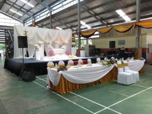 Pencak Silat - Démonstration mariage malais 2014