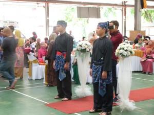 Pencak Silat - Seni Gayung Fatani Malaysia - Démonstration mariage