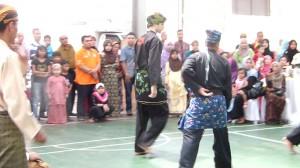 Pencak Silat - Matthias pendant la démo