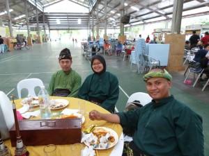 Pencak Silat - Les musiciens après la démo
