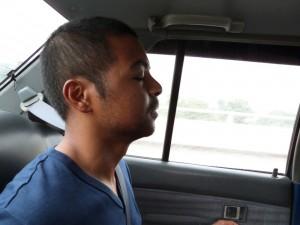 Mahéry médite en voiture