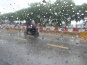Vive la pluie quand on est en voiture