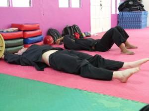 Après le stretch, la sieste