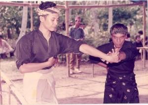 Pak Long Rahman & Fahmi (imam Mansor grandson)