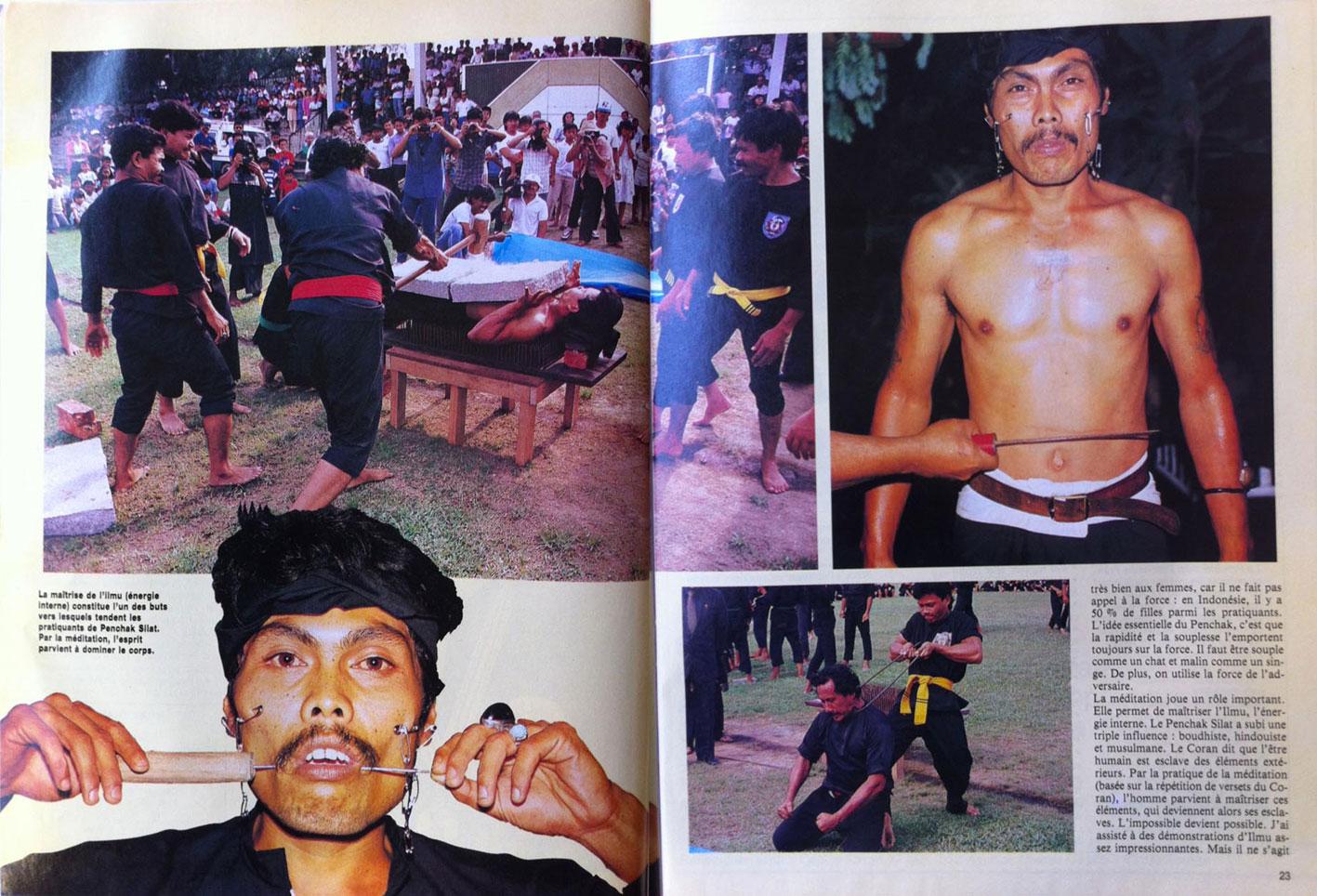 Penchak Silat - L'Art Secret de la Jungle - Reportage