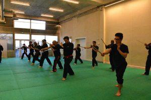 Stage Pencak Silat - Seni Gayung Fatani - 22012017 - Session n°2 (21)
