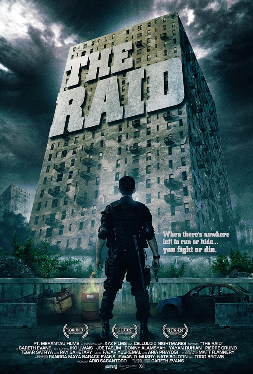 Culture Silat - The Raid Redemption - 2012