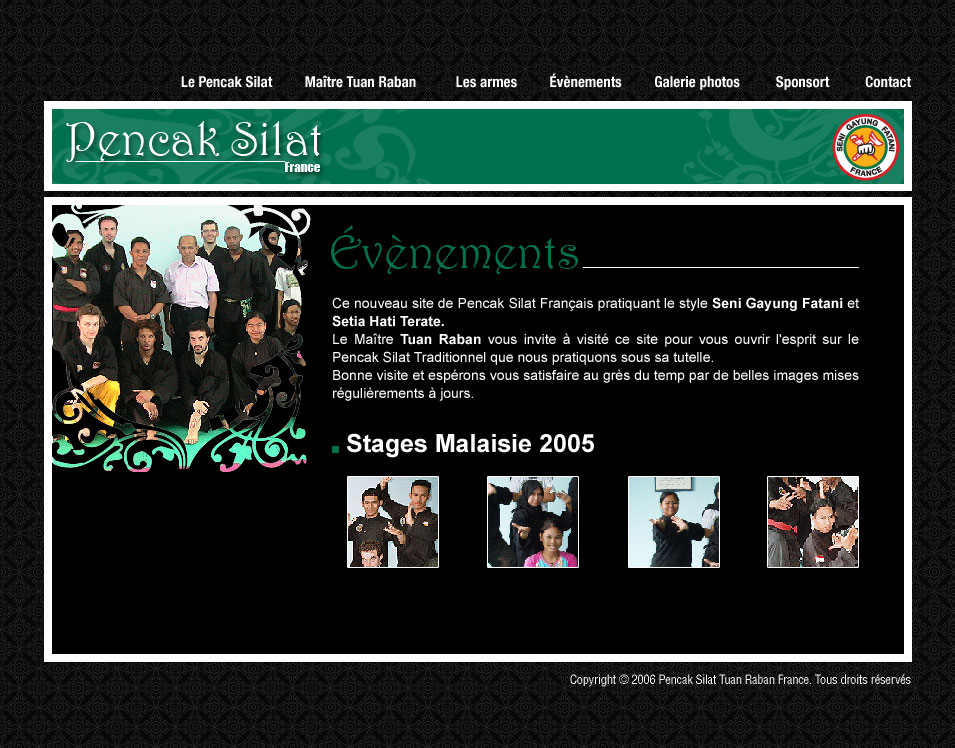 Culture Silat - Evenements Penchak Silat