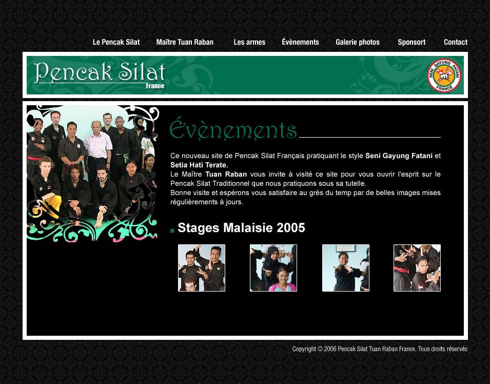Culture Silat - Evenements Penchak Silat