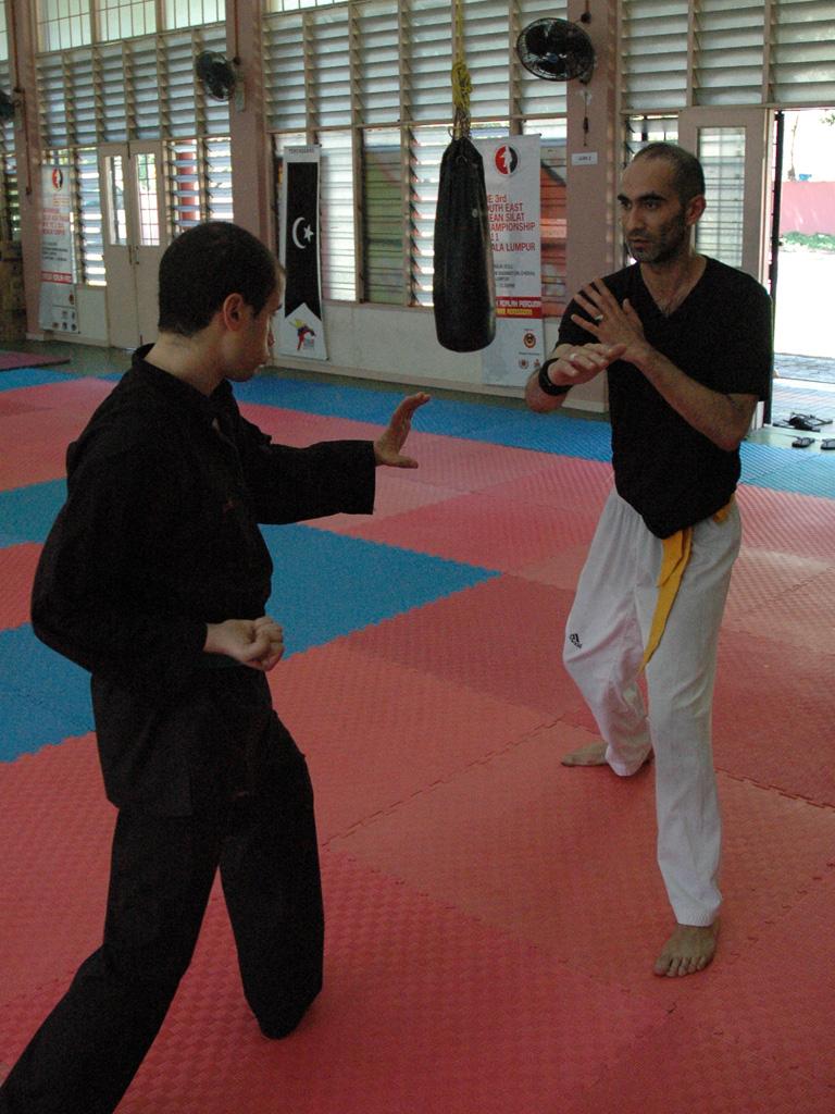 Penchak Silat - Techniques ceinture jaune