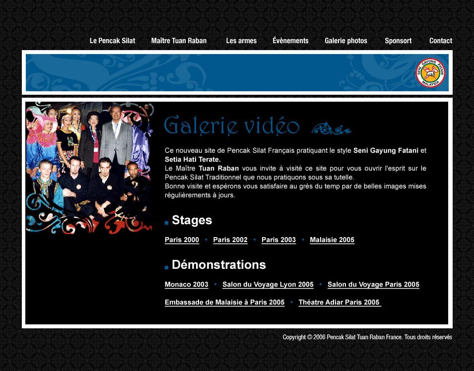 Culture Silat - Galerie Vidéo Penchak Silat