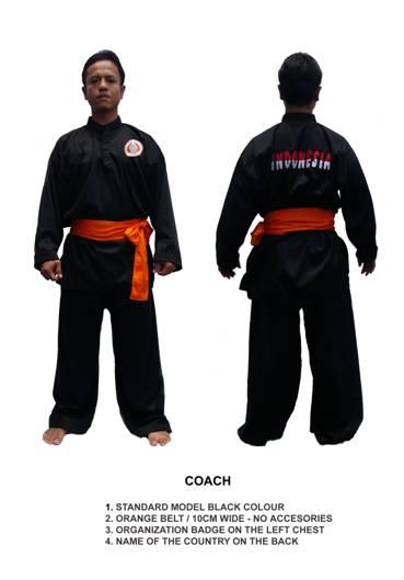 Penchak Silat - Tenue du coach de Silat Olahraga