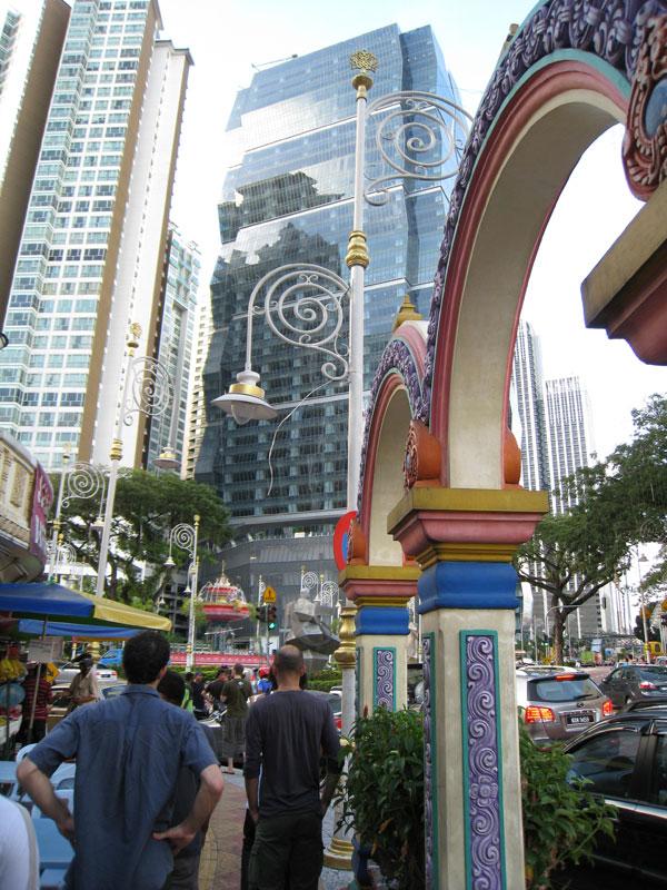 Carnet de stage Silat Fatani 2013 - Little India à Kuala Lumpur