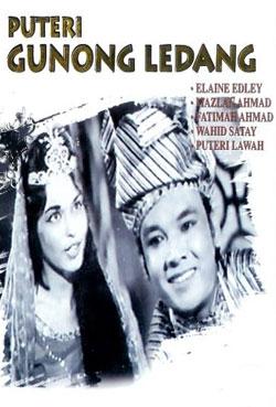 Culture Silat - Puteri Gunong Ledang - 1961