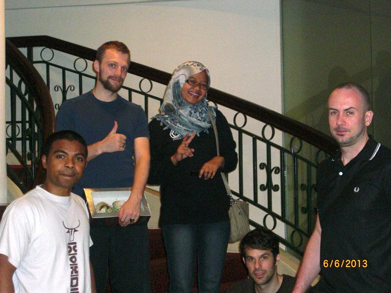 Carnet de Stage Silat Fatani 2013 - Photo de groupe avec Tina Toiman